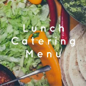 Lunch Catering Menu
